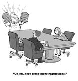 Plus de règlements illustration de vecteur