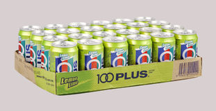 100 plus drinks Royalty Free Stock Photography