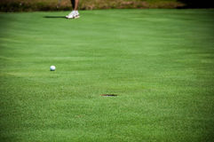 Plus golf med skugga Royaltyfri Bild