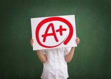 A plus Grad Lizenzfreies Stockfoto