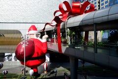 Plus grande Santa Claus en Asie du Sud-Est Image libre de droits