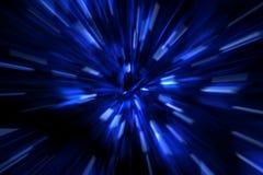 Plus rapidement que la vitesse de la lumière Images libres de droits