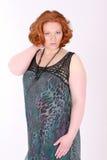 plus rozmiar modny model Zdjęcia Royalty Free