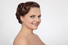 Plus-size beauty Stock Photography