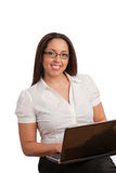 Plus Size Business Woman Stock Image