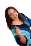 Plus Size Fashion Female Model Royalty Free Stock Photography