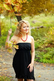 Plus size model girl Stock Images