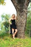 Plus size model girl Stock Photo