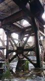Plus sous-marin après 40 années Centrale abandonnée de rue du marché de la Nouvelle-Orléans de puissance de Market Street image stock