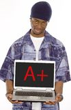 A plus Student Stock Image