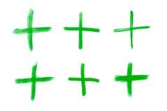Plus tecknet för matematiska operationer Royaltyfri Fotografi