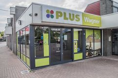 Plus-Wagner Supermarket At Duivendrecht The die Niederlande Stockfotos
