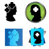Plus of the woman mind Stock Image