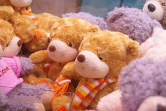 Plush animal toy Royalty Free Stock Photo