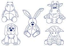 Plush Animals Stock Image