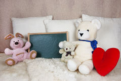Plush animals Stock Photos