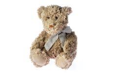 Plush bear toy Stock Photo