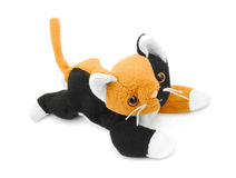 Plush cat Royalty Free Stock Photography