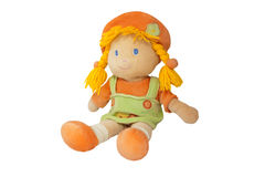 Plush doll Stock Image