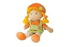 Plush doll stock image
