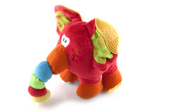 Plush elephant royalty free stock images