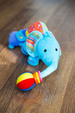 Plush elephant Royalty Free Stock Photo