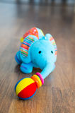 Plush elephant Stock Photos
