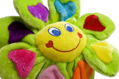 Plush flower toy Stock Image