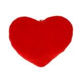 Plush heart Stock Photography