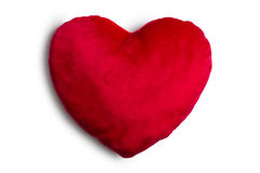 Plush heart Royalty Free Stock Photography