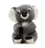 Plush koala toy isolated on a white background Royalty Free Stock Images
