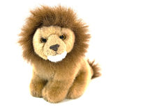 Plush lion Royalty Free Stock Photography