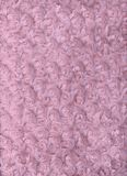 Plush Pink Fabric Background Texture Stock Photo