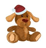 Plush puppy Stock Photos