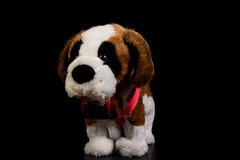 Plush puppy Royalty Free Stock Images
