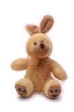 Plush rabbit. Stuffed rabbit isolated on white background Royalty Free Stock Photo