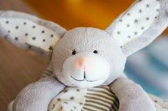 Plush rabbit Royalty Free Stock Image