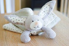 Plush rabbit Royalty Free Stock Photo