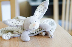 Plush rabbit Stock Photo