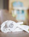 Plush rabbit Royalty Free Stock Photos