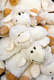 Plush sheep Stock Image