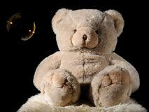 Plush teddy bear Royalty Free Stock Images