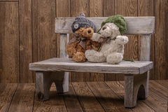 Plush Teddy bears Stock Image