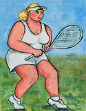 Plush Tennis Player Stock Photos