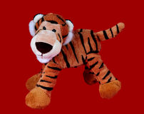 Plush tiger Royalty Free Stock Images