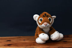Plush tiger Royalty Free Stock Photo
