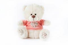 Plush toy bear Royalty Free Stock Images