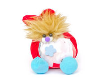 Plush toy dog. Royalty Free Stock Photography