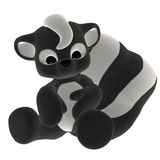 Plush toy skunk Royalty Free Stock Photography