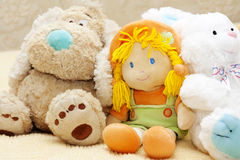 Plush toys Royalty Free Stock Images